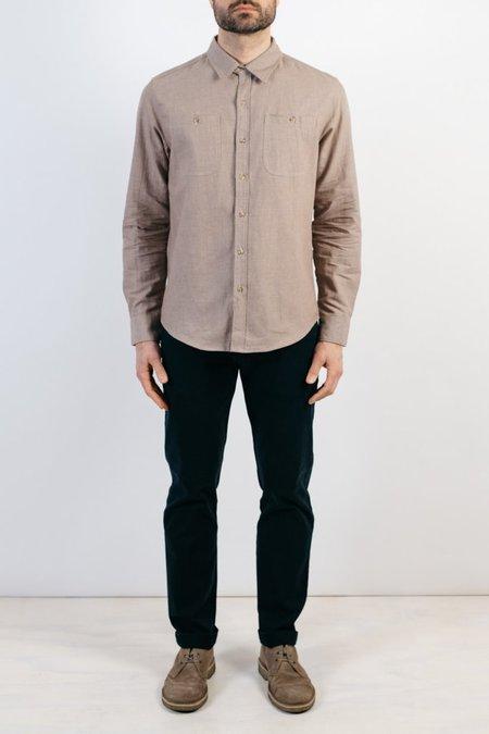 Bridge & Burn Winslow Herringbone Shirt - Tan