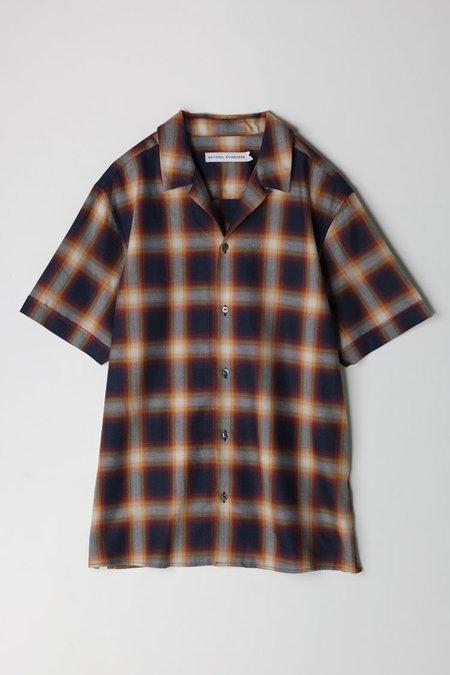National Standards Retro Plaid S/S Shirt