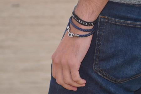Sailormade Player Rope Bracelet - Navy