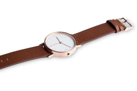 STRY Project Classic - Rose Gold Case/White Dial