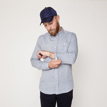 Suit Reflect Shirt - Light Blue