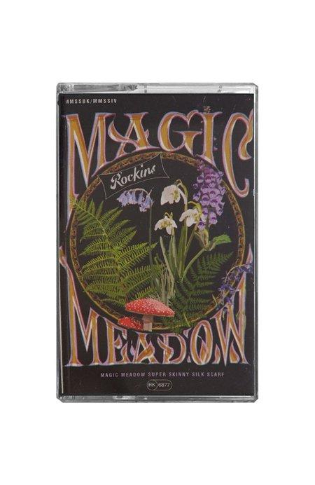 Rockins Magic Meadow Super Skinny Scarf - BLUE