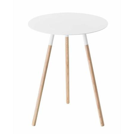 Yamazaki Home Plain Side Table - White