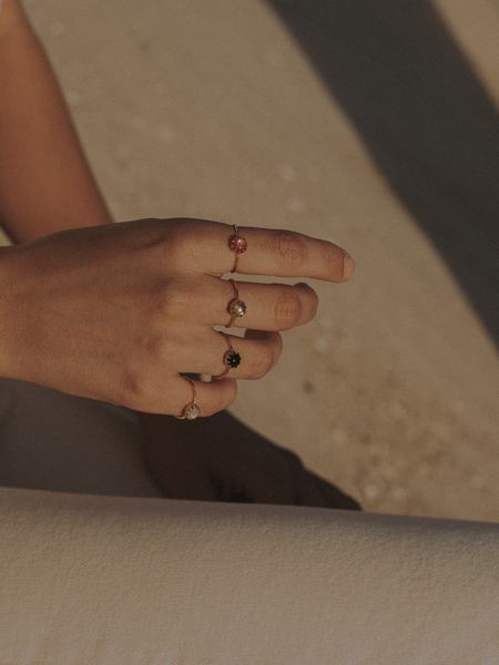 Merewif Moon Ray Ring