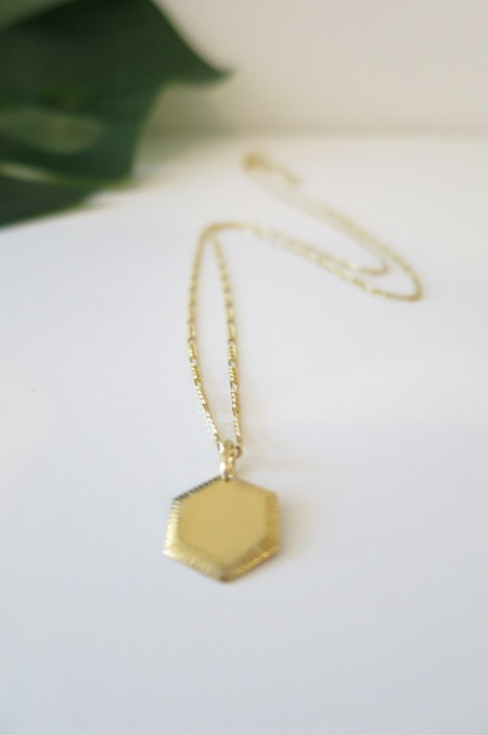 Maria Black Kim Necklace - Gold