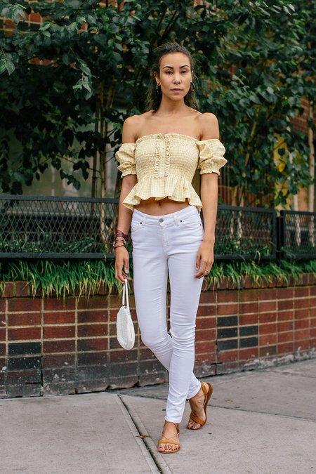 BETWEEN TEN Camilla Top - yellow
