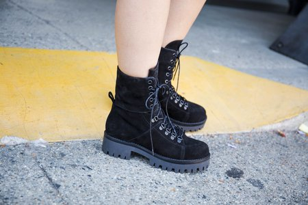 """""""Intentionally __________."""" Incline Boots - Black"""