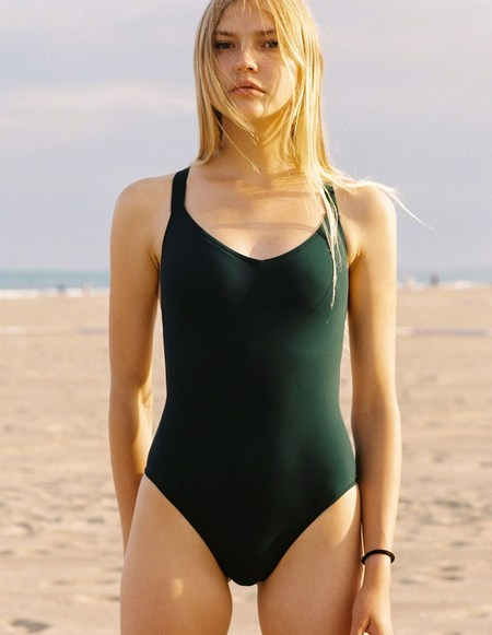 Lido One Jade Swimsuit - green