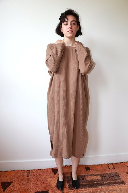 Priory Iku Dress - brown