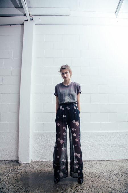 Stolen Girlfriends Club Death Lily Pant