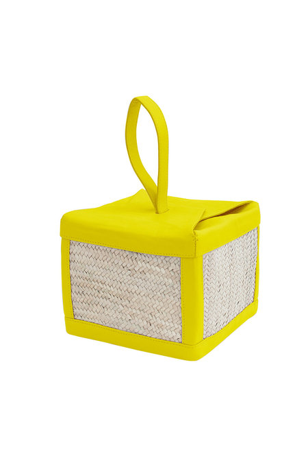 Parme Marin Straw-Ling Box