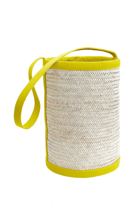 Parme Marin Bucket bag Straw-Ling Large Bucket