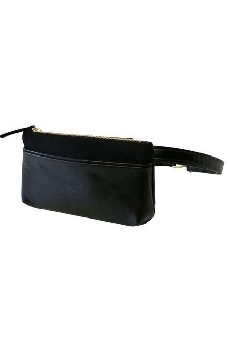 HFS Collective Pocket Bum Bag - Black