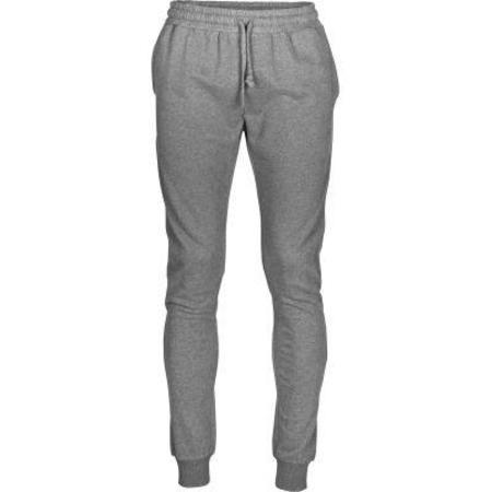 knowledge cotton apparel Sweat Pant Melange - Dark Grey