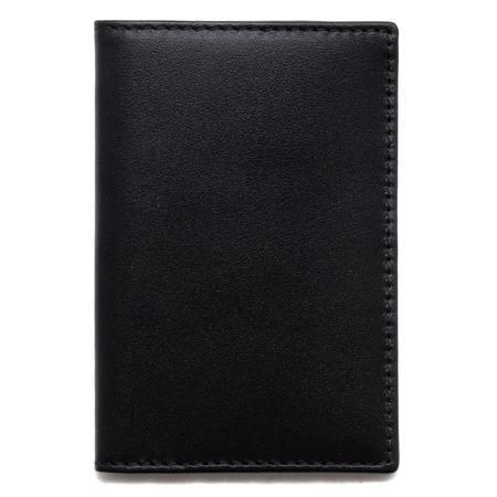 COMME des GARÇONS Card Holder Classic Leather Line - Black
