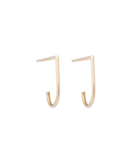 Hortense Hoop Earrings - Gold