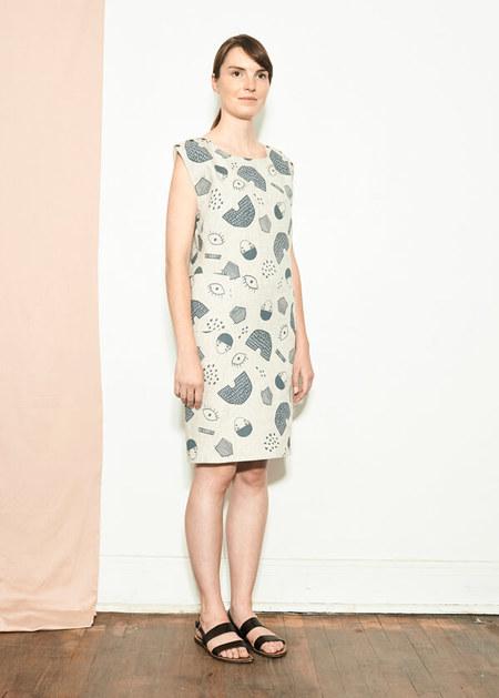 Atelier B. Straight Cut Dress