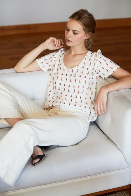Emerson Fry Ava Blouse - Sunbathing Beauties