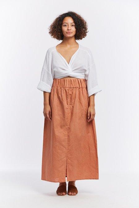 Miranda Bennett Studio Linen Paper Bag Skirt - Sonora