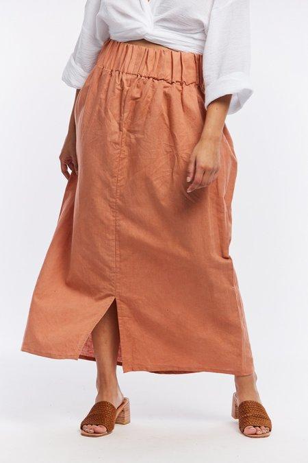 016ac68356 Miranda Bennett Linen Paper Bag Skirt - Sonora ...