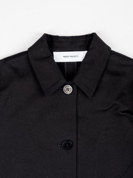 Norse Projects Rositta Cotton Twill Jacket - Black