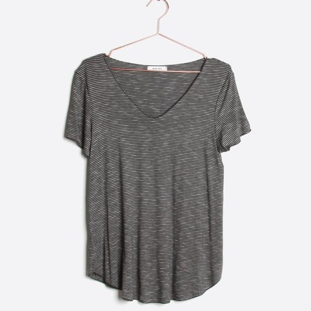 Mod Ref Simple Tee - Charcoal
