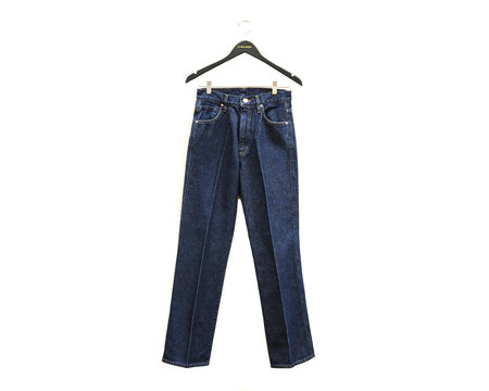 Goldsign The A Jean High Rise A Silhouette
