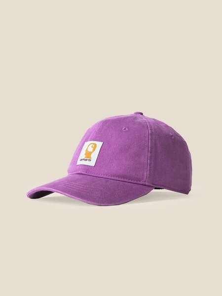 CARHARTT X BRAIN DEAD Logo Cap - Purple