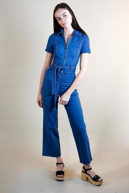 Rachel Antonoff Sal Jumpsuit - True blue denim