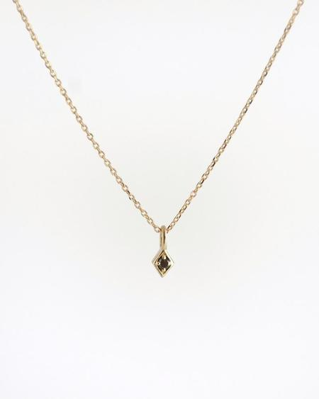 Emi Grannis Golden Kite Necklace - Black Diamond