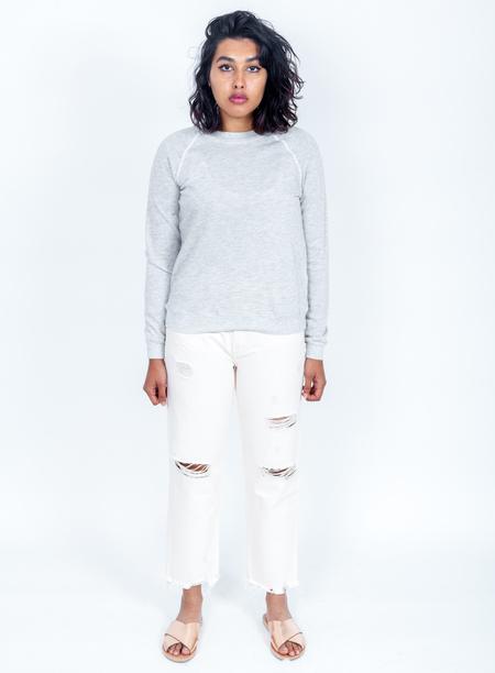 LACAUSA Favorite Sweatshirt - Heather Grey
