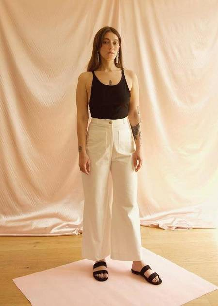 OhSevenDays Sunday So High Trousers - White