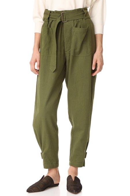 Antik Batik Chandler Pants - Green Khaki