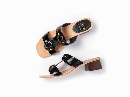No.6 Beau Ring Sandal - Black