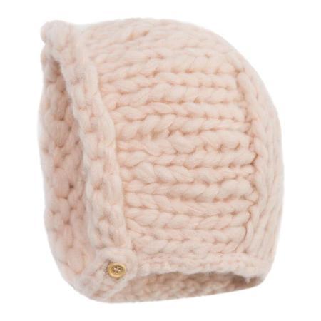 Kids Bonton Baby Beguin Hat - Rose De Mai