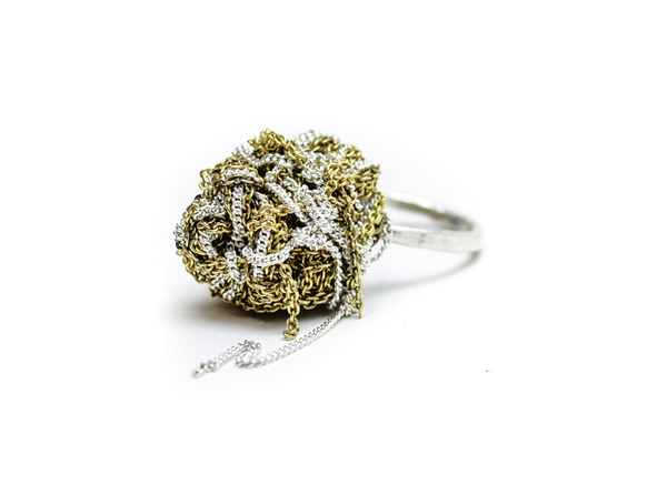 Arielle de Pinto Blended Nugget Ring