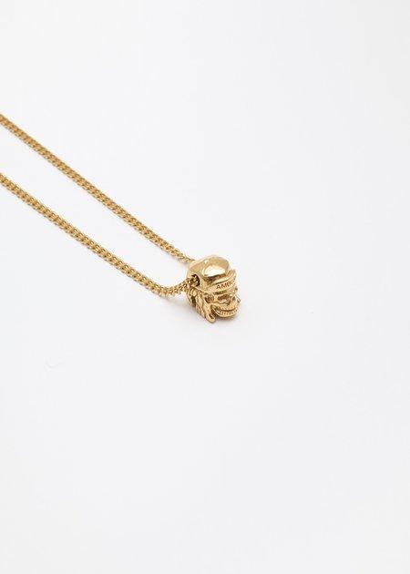 Ambush Nobo Skull Charm Necklace - Gold