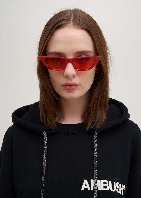 Ambush Molly Sunglasses - Red