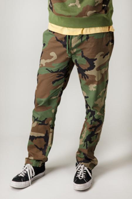 HUF Surplus Easy Pants - CAMO