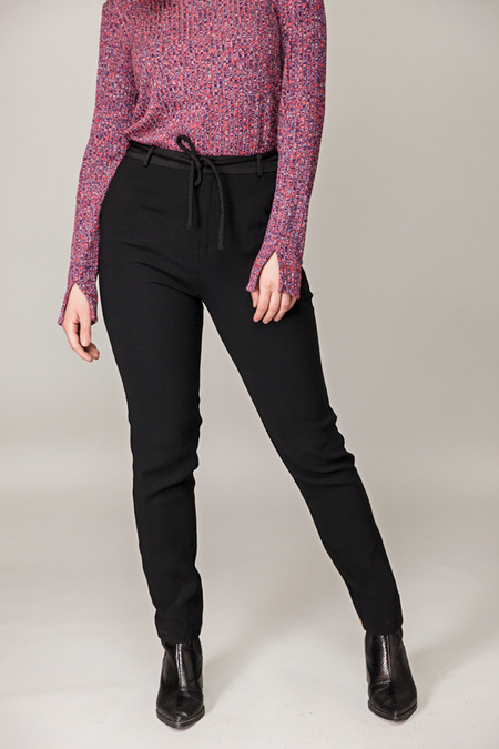 Maison Scotch Loose Fitted Pants - BLACK