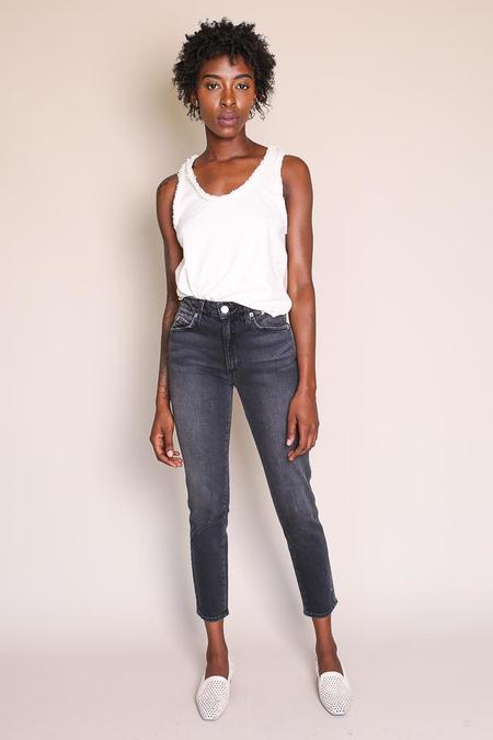 amo denim Stix Crop Jean - Washed Black