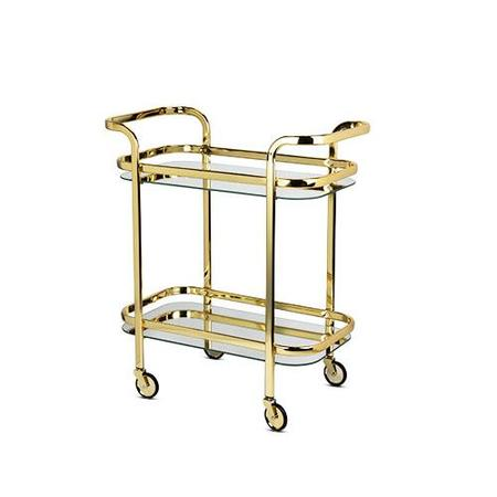 Viski Bar Cart - Gold