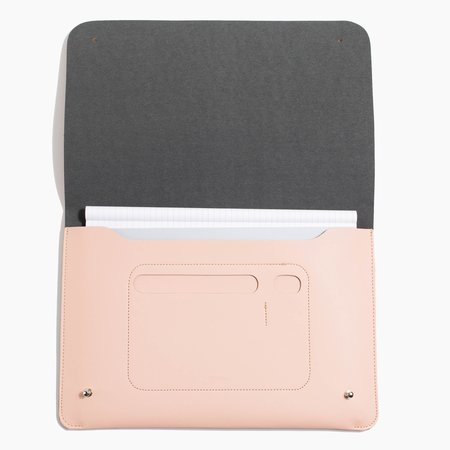 Poketo Medium Minimalist Folio - Blush