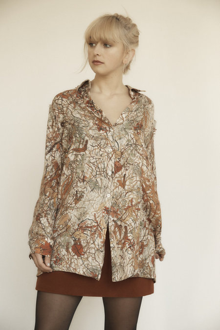 Annie Hamilton OVERSIZED SHIRT - WINTER