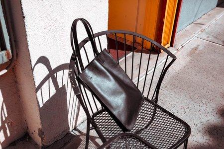 Minor History Plie - Black Leather