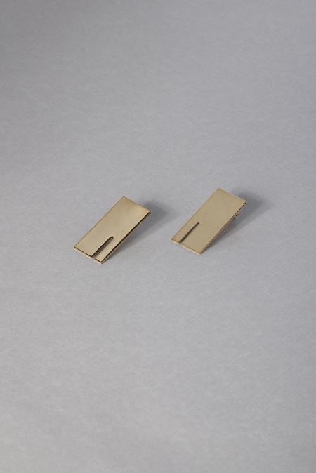Anne Thomas Walter Earrings - 18K Gold Filled