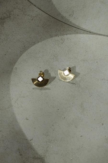 Anne Thomas Cuzco Earrings - WHITE