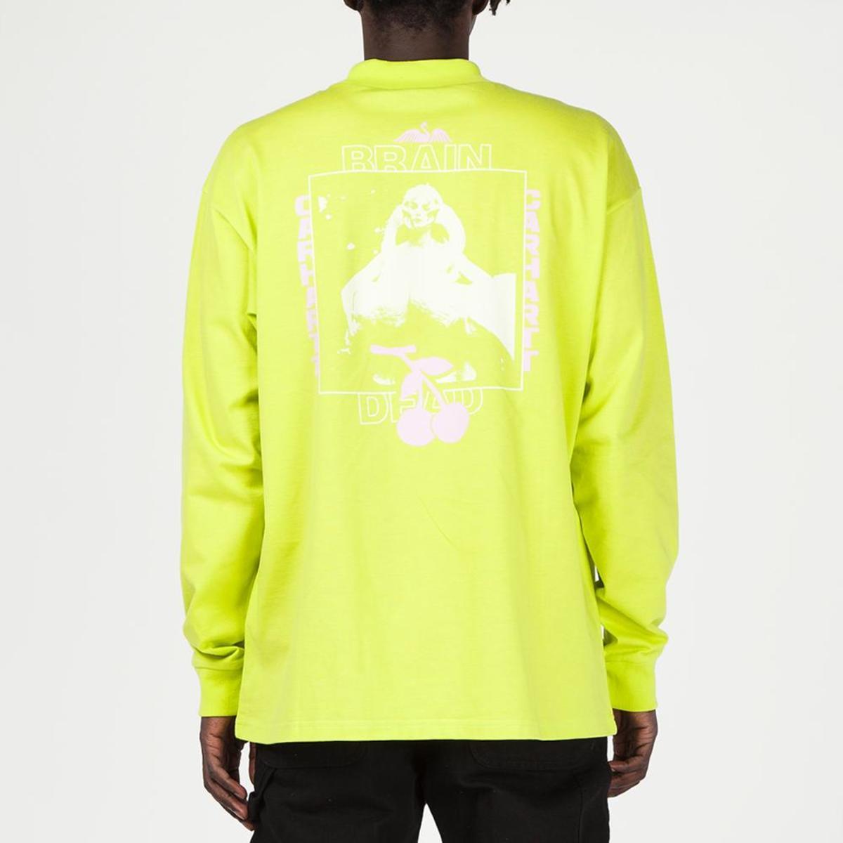 8baf110aa8bc7b Brain Dead x Carhartt WIP Swan Long Sleeve T-shirt - Lime Green ...