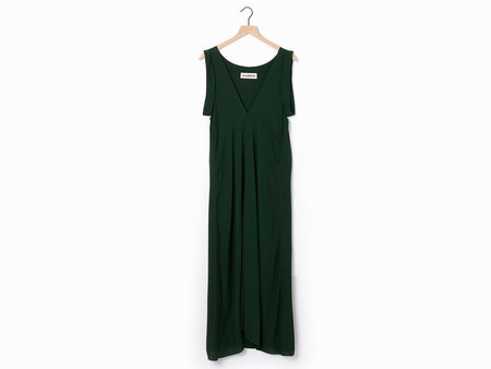 Alasdair Cassi Dress - Emerald