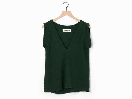 Alasdair Cassi Top - emerald